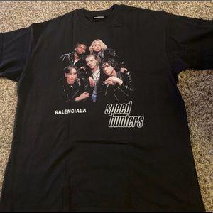 Balenciaga Speedhunters Logo Tee Shirt